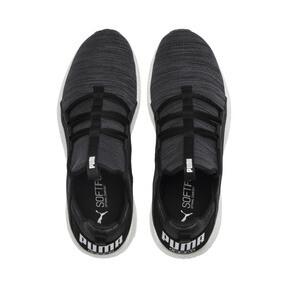 Thumbnail 6 of Mega NRGY Heather Knit Men's Running Shoes, Puma Black-Iron Gate-White, medium