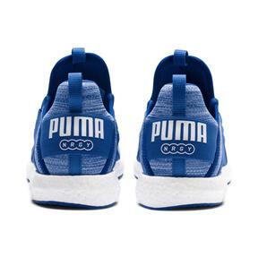 Thumbnail 4 of Mega NRGY Heather Knit Men's Running Shoes, Strong Blue-Puma White, medium