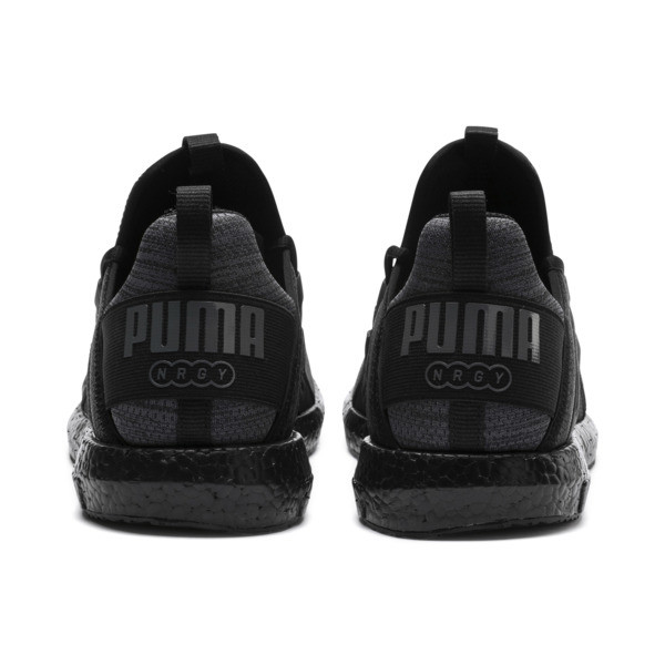 Mega NRGY Heather Knit Men's Running Shoes, Iron Gate-Puma Black, large