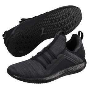 Thumbnail 2 of Mega NRGY Heather Knit Men's Running Shoes, Iron Gate-Puma Black, medium