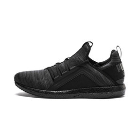 Thumbnail 1 of Mega NRGY Heather Knit Men's Running Shoes, Iron Gate-Puma Black, medium
