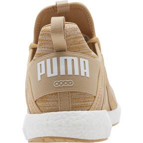 Thumbnail 4 of Mega NRGY Heather Knit Men's Running Shoes, Taos Taupe-Puma White, medium
