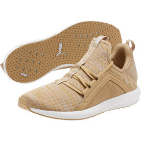 Thumbnail 2 of Mega NRGY Heather Knit Men's Running Shoes, Taos Taupe-Puma White, medium