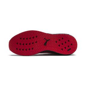 Thumbnail 3 of Mega NRGY Heather Knit Men's Running Shoes, High Risk Red-Puma Black, medium
