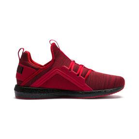 Thumbnail 5 of Mega NRGY Heather Knit Men's Running Shoes, High Risk Red-Puma Black, medium