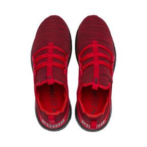 Thumbnail 6 of Mega NRGY Heather Knit Men's Running Shoes, High Risk Red-Puma Black, medium