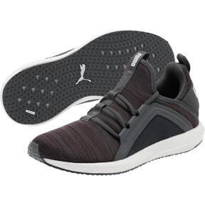 Thumbnail 2 of Mega NRGY Heather Knit Women's Running Shoes, Pomegranate-Iron Gate, medium