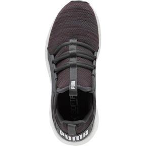 Thumbnail 5 of Mega NRGY Heather Knit Women's Running Shoes, Pomegranate-Iron Gate, medium
