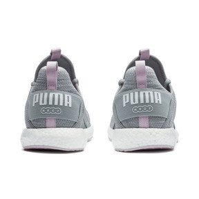 Thumbnail 4 of Mega NRGY Heather Knit Women's Running Shoes, Quarry-Winsome Orchid-White, medium