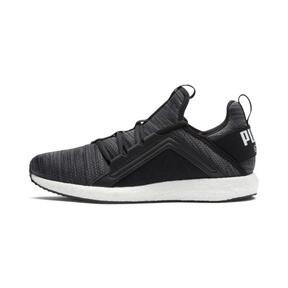 Thumbnail 1 of Mega NRGY Heather Knit Women's Running Shoes, Black-Iron Gate-White, medium