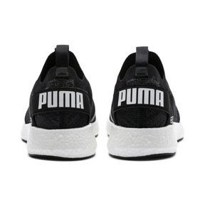 Thumbnail 4 of NRGY Neko Engineer Knit Men's Running Shoes, Puma Black-Iron Gate, medium