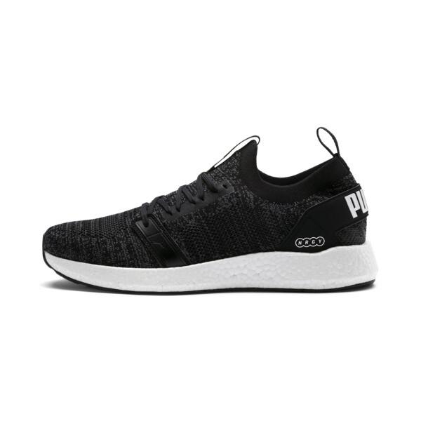 629572f7b NRGY NEKO ENGINEER KNIT Men's Running Shoes, Puma Black-Iron Gate, large-