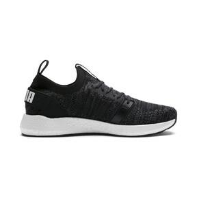 Thumbnail 5 of NRGY Neko Engineer Knit Men's Running Shoes, Puma Black-Iron Gate, medium