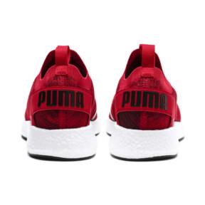 Thumbnail 4 of NRGY Neko Engineer Knit Men's Running Shoes, Ribbon Red-White-Black, medium