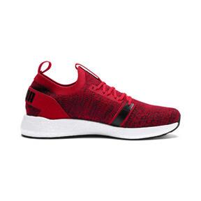Thumbnail 5 of NRGY Neko Engineer Knit Men's Running Shoes, Ribbon Red-White-Black, medium