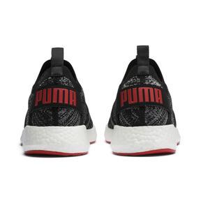 Thumbnail 4 of NRGY Neko Engineer Knit Men's Running Shoes, Puma Black-High Risk Red, medium
