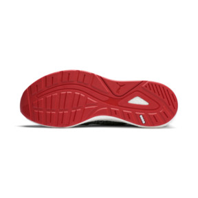 Thumbnail 3 of NRGY Neko Engineer Knit Men's Running Shoes, Puma Black-High Risk Red, medium