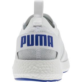 Thumbnail 3 of NRGY Neko Engineer Knit Men's Running Shoes, Puma White-Surf The Web, medium