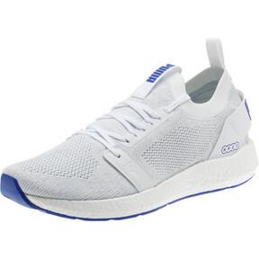 Thumbnail 1 of NRGY Neko Engineer Knit Men's Running Shoes, Puma White-Surf The Web, medium