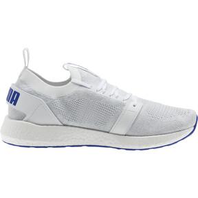 Thumbnail 4 of NRGY Neko Engineer Knit Men's Running Shoes, Puma White-Surf The Web, medium