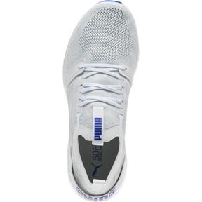 Thumbnail 5 of NRGY Neko Engineer Knit Men's Running Shoes, Puma White-Surf The Web, medium