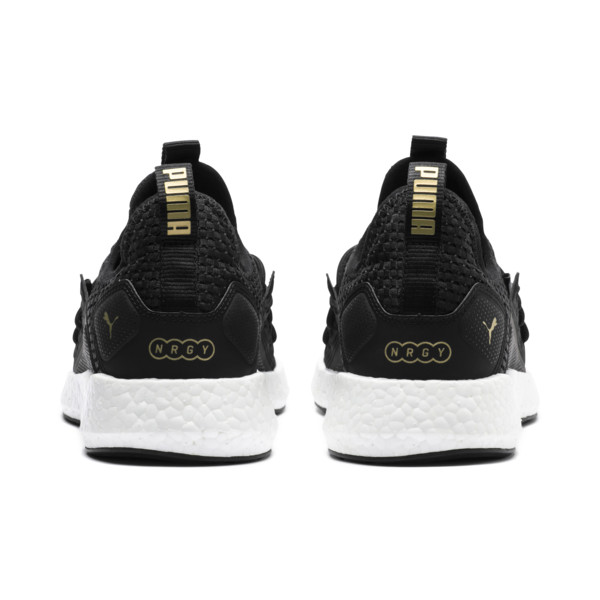 NRGY Neko VT Wns, Puma Black-Metallic Gold, large