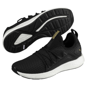 Thumbnail 2 of NRGY Neko VT Wns, Puma Black-Metallic Gold, medium