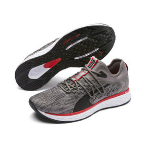 Thumbnail 2 of SPEED FUSEFIT Men's Running Shoes, Steel Gray-Red-Black, medium