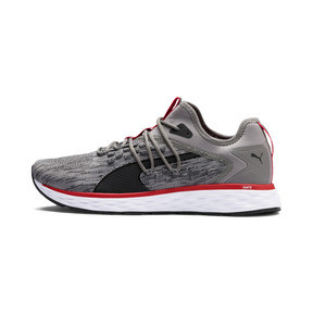 Thumbnail 1 of SPEED FUSEFIT Men's Running Shoes, Steel Gray-Red-Black, medium