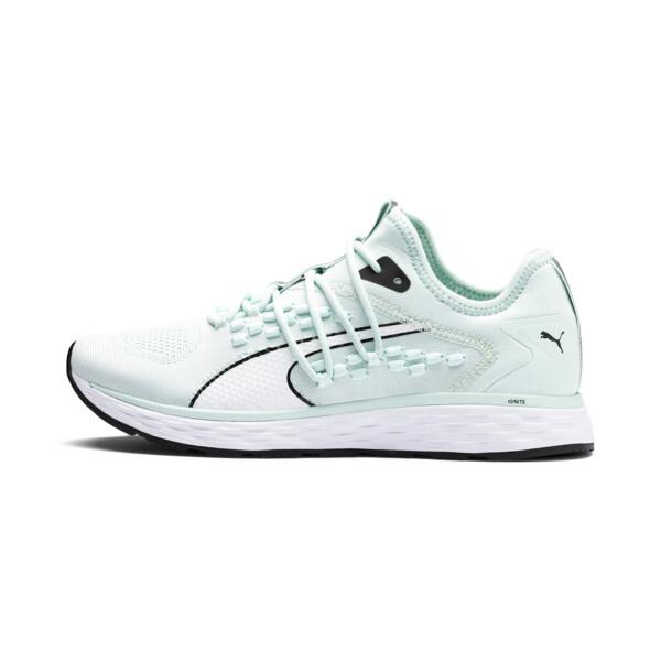 SPEED 600 FUSEFIT Women's Running Shoes, Fair Aqua-Puma White, large