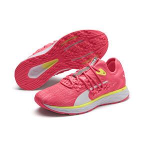 Thumbnail 3 of SPEED 600 FUSEFIT Women's Running Shoes, Pink Alert-Puma White, medium