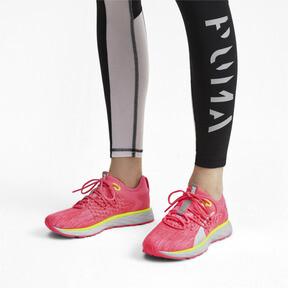 Thumbnail 2 of SPEED 600 FUSEFIT Women's Running Shoes, Pink Alert-Puma White, medium