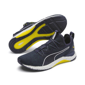 Thumbnail 2 of HYBRID Runner Men's Running Shoes, Ponderosa Pine-BlazingYellow, medium