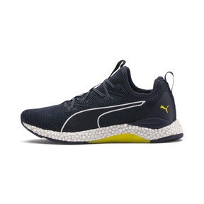 Thumbnail 1 of HYBRID Runner Men's Running Shoes, Ponderosa Pine-BlazingYellow, medium