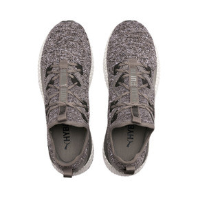 Thumbnail 6 of HYBRID Runner Men's Running Shoes, Charcoal Gray-Puma White, medium