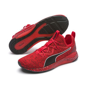 Thumbnail 2 of HYBRID Runner Men's Running Shoes, High Risk Red-Puma Black, medium