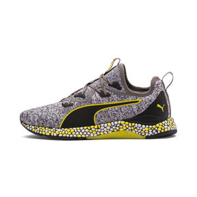 Thumbnail 1 of Chaussure de course Hybrid Runner pour homme, Black-White-Blazing Yellow, medium