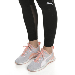 Thumbnail 2 of HYBRID Runner Women's Running Shoes, Glacier Gray-Peach Bud, medium