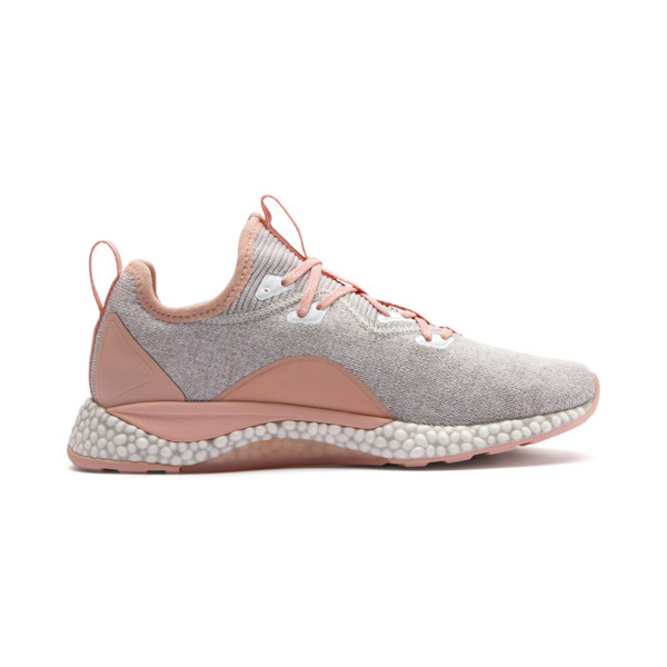Hybrid Runner Women's Running Shoes, Glacier Gray-Peach Bud, large