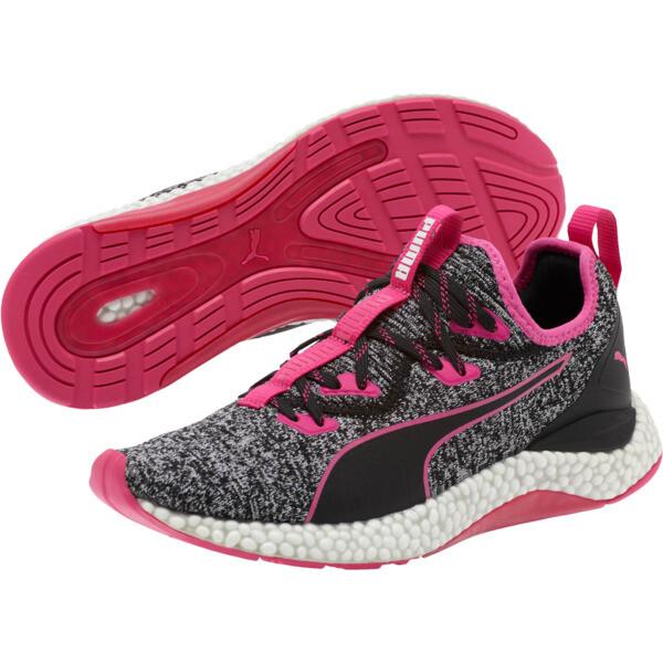 HYBRID Runner Women's Running Shoes, Puma Black-Fuchsia Purple, large