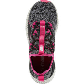 Thumbnail 5 of HYBRID Runner Women's Running Shoes, Puma Black-Fuchsia Purple, medium
