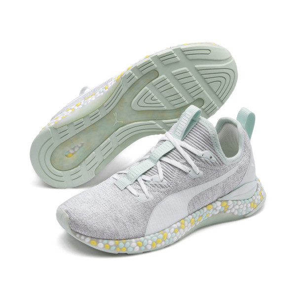 Hybrid Runner Women's Running Shoes, Fair Aqua-Glacier Gray, large