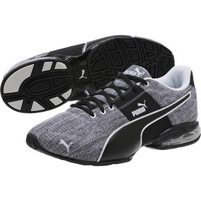 Thumbnail 2 of CELL Surin 2 Heather Men's Running Shoes, Puma Black-Puma White, medium
