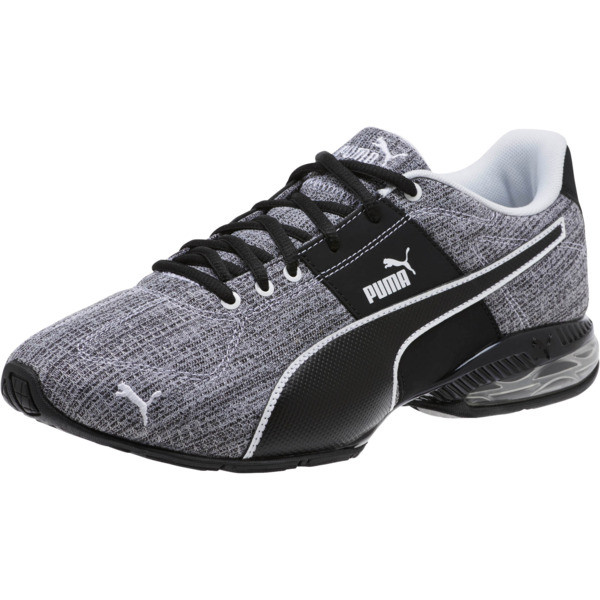 CELL Surin 2 Heather Men's Running Shoes, Puma Black-Puma White, large
