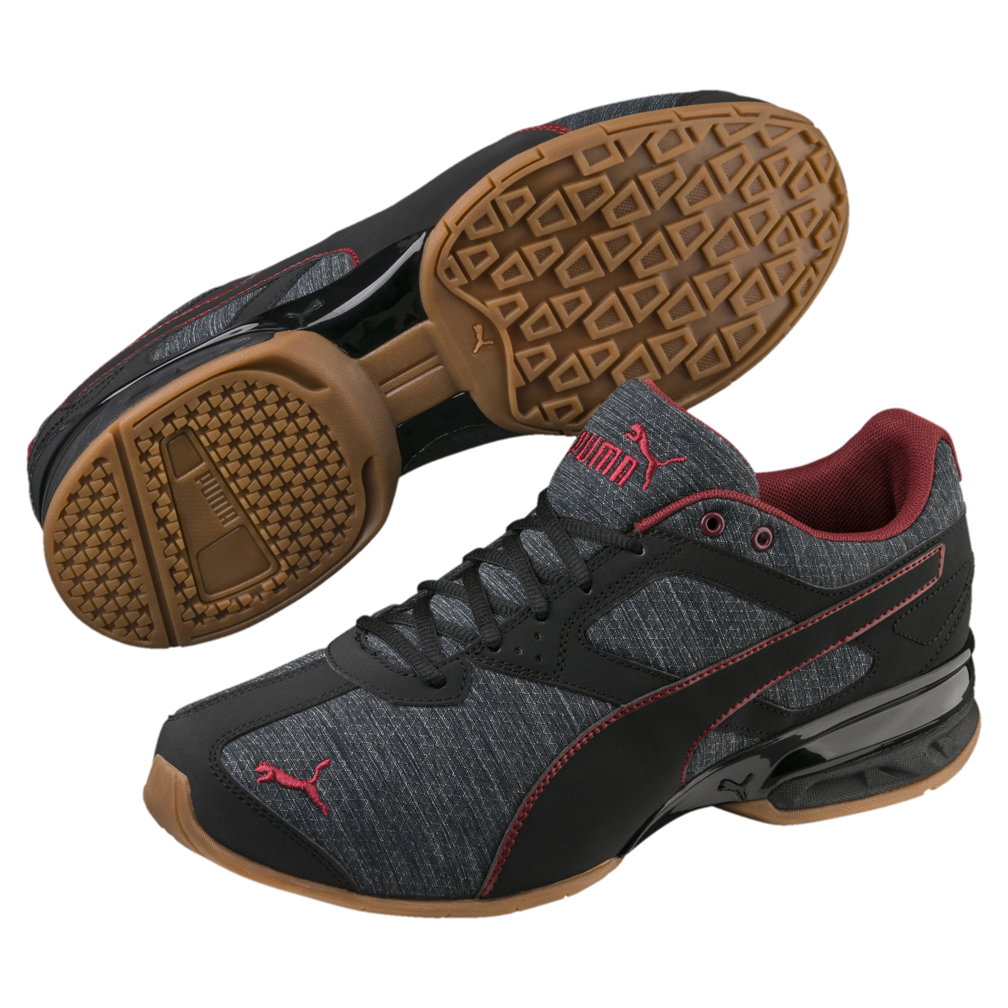 PUMA-Tazon-6-Heather-Rip-Men-s-Sneakers-Men-Shoe-Running thumbnail 3