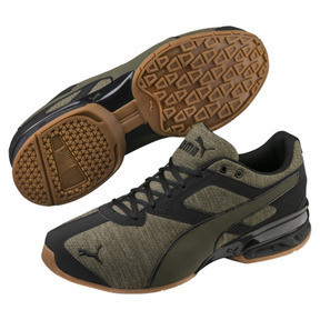 Thumbnail 1 of Tazon 6 Heather Rip Men's Sneakers, Forest Night-Puma Black, medium
