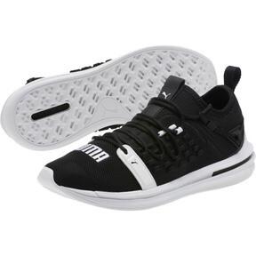 Thumbnail 2 of IGNITE Limitless SR FUSEFIT Running Shoes, Puma Black-Puma White, medium