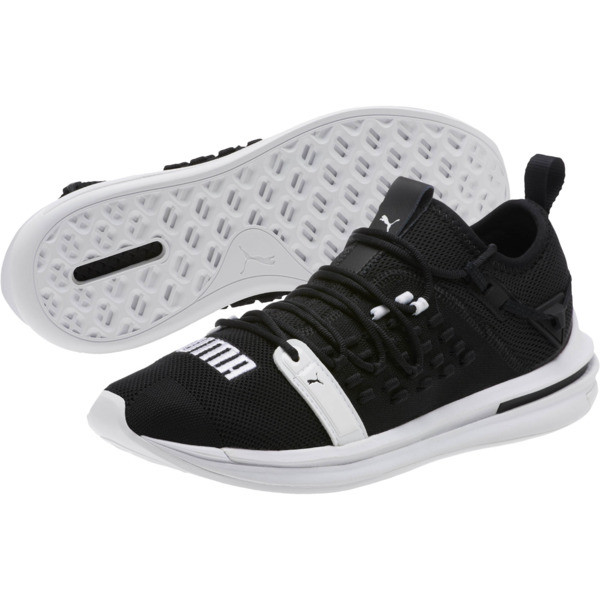 IGNITE Limitless SR FUSEFIT Running Shoes, Puma Black-Puma White, large