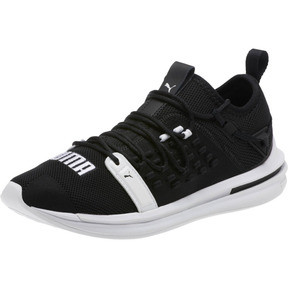 Thumbnail 1 of IGNITE Limitless SR FUSEFIT Running Shoes, Puma Black-Puma White, medium