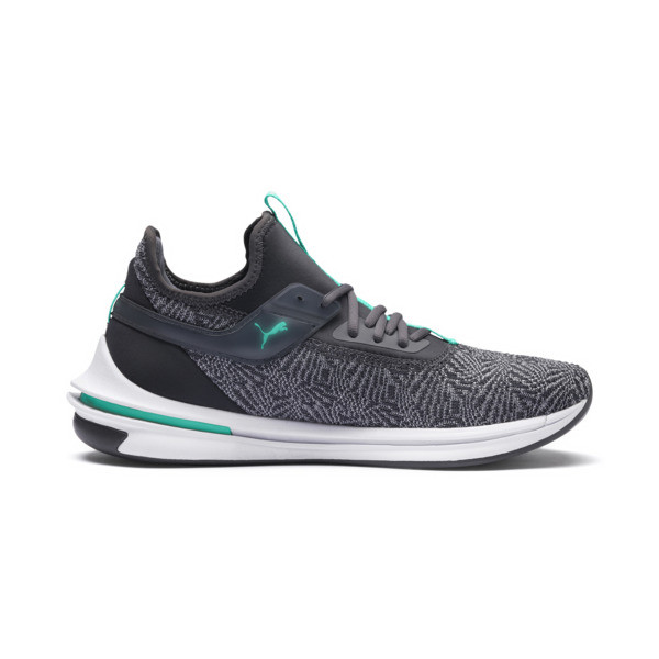IGNITE Limitless SR-71 Running Shoes, Iron Gate-Spctra Green-Phlox, large